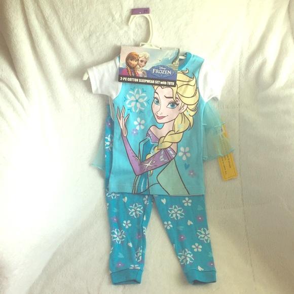 dde1b88c5 Disney FROZEN Pajamas